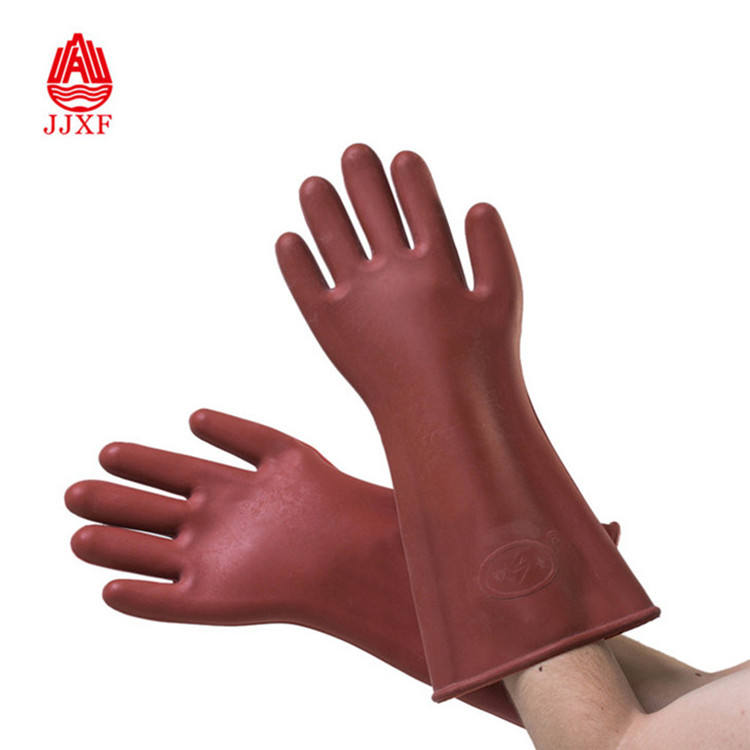 12kv electric insulation gloves electric gloves