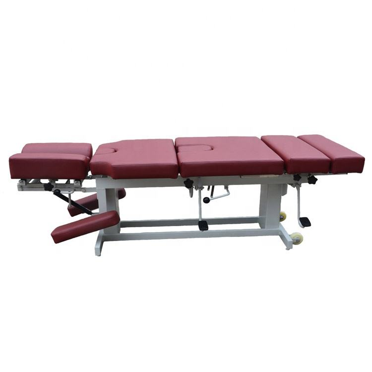 Manuelle steuerung chiropraktik drop table für antisternum
