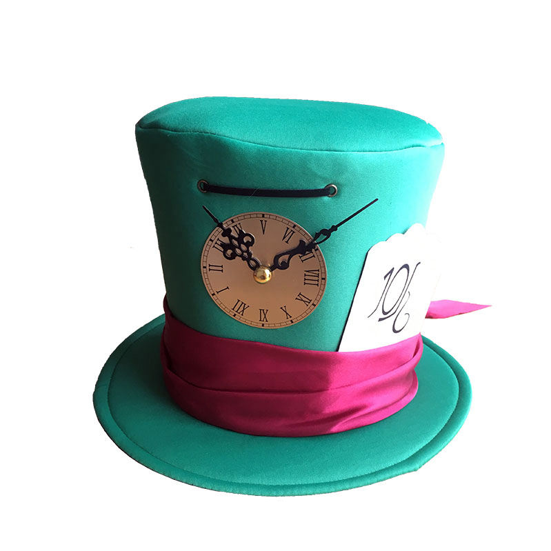 crazy football fan hat carnival Alice in wonderland party hat Mad hatter carnival hat