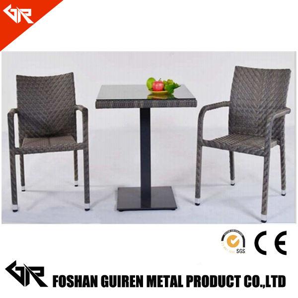 silla rota del PE al aire libre para <span class=keywords><strong>muebles</strong></span> de jardín establecido GR-R51004