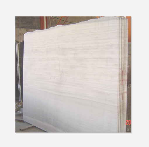 Factory Direct Supply White Wood Grain Marble Slabs Nature Stone