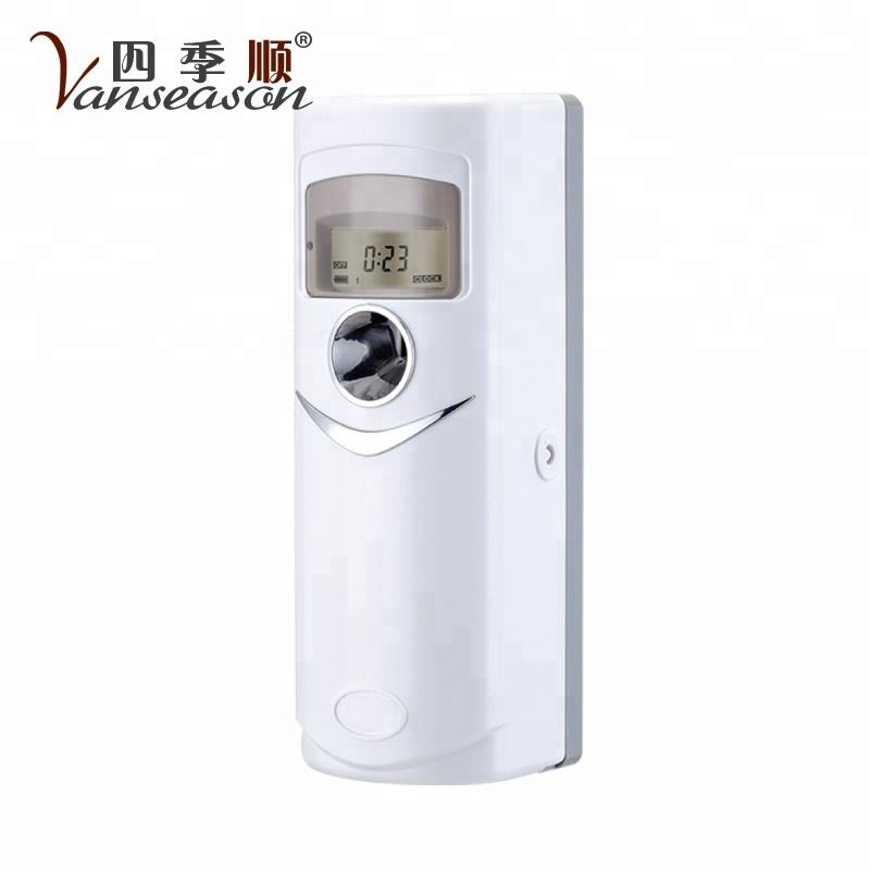 Office and Hotel LED Wall mounted Automatic air freshener dispenser for aerosol spray
