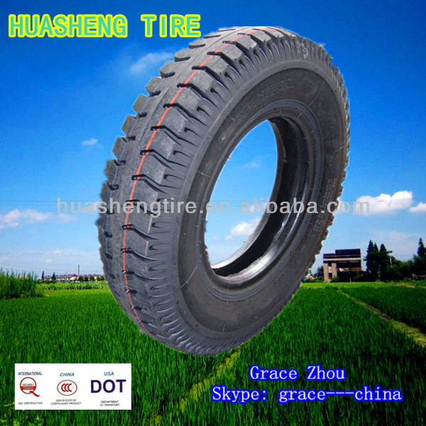 Cheap truck tire Bias truck Bus tire 6.50-16 LT Huasheng and Taitong brand tire factory