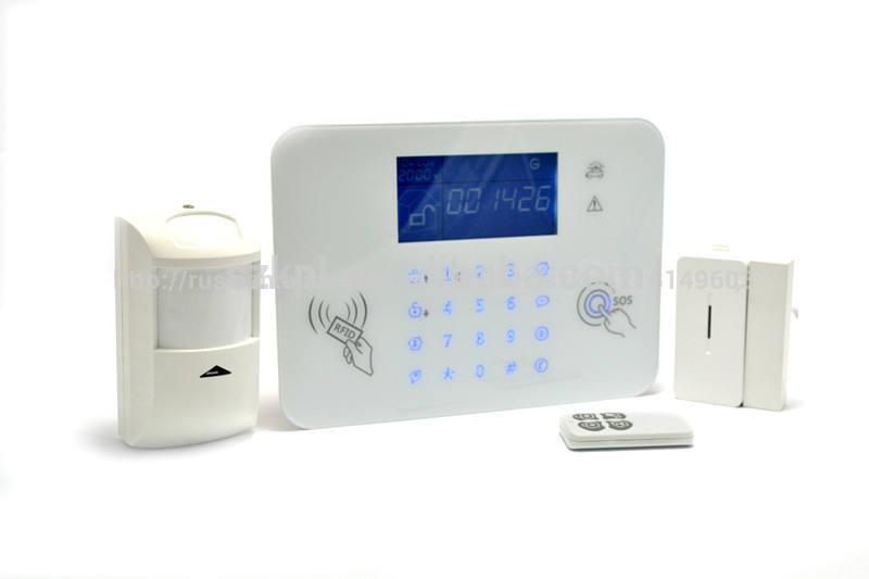 дома высокий уровень безопасности сигнализация