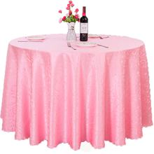 Wedding party sequin tablecloths round table cloth polyester