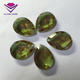 Different Light Color Changed Special Synthetic Faceted Cut Glass Gemstone for Pendant Jewelry