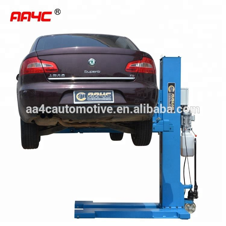 Hydraulic mobile Manual car lift AASP-YY2.5