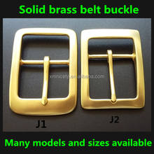 types of square solid brass belt buckles, brass blet buckle