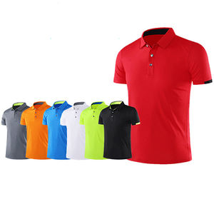 Hoge Kwaliteit Anti-pilling Ademend Custom Polyester Droge Fit Sport Golf Polo Shirt