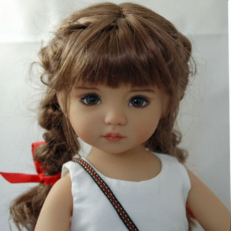 Wholesale China Factory Hot Selling Vinyl African American Black Girl Doll