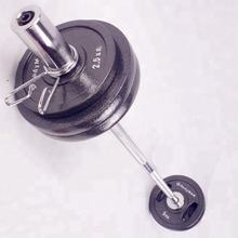Newest barbells of fitness equipment 20kg barbell set for foreign trade
