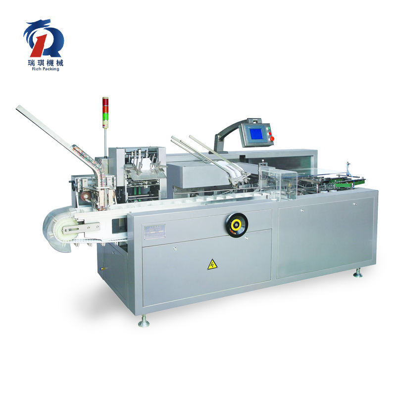 Door-To-Door Shipping And Installation Vial Blister Carton Box Packing Machine/Cartoning Machine For Medicine Bottle