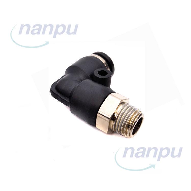 """8 mm Tubo Empuje Montaje a 1//4/"""" BSPT MacHo Conector Neumática Aire"""
