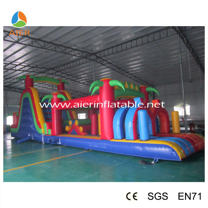 PVC material inflatable sport games /customized inflatable toys/CE certificate inflatable obstacle games