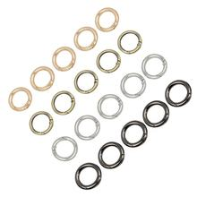 Metal Ring 27mm 20pcs Smooth Bag Accessories Key Ring Jewelry Accessories With box