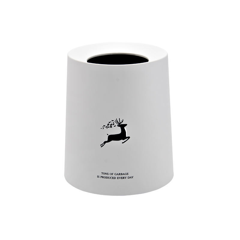 8l 12l indoor eco-friendly modern plastic personalized wast bin