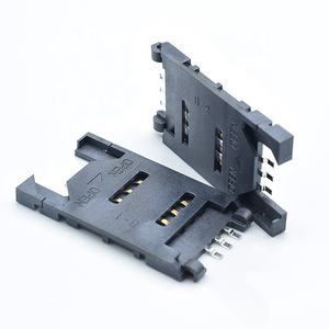 GSM/GPRS modulo micro sim card holder socket push tipo di Sim del supporto di carta