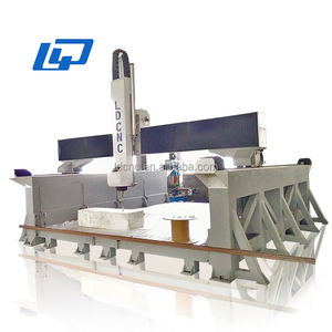 Factory direct China supplier 4 axis woodworking engraving cnc router machine for mold foam EPS wood cnc machine