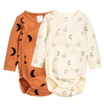 Wholesale China Import Plain Lovely Baby Organic Cotton romper Clothing