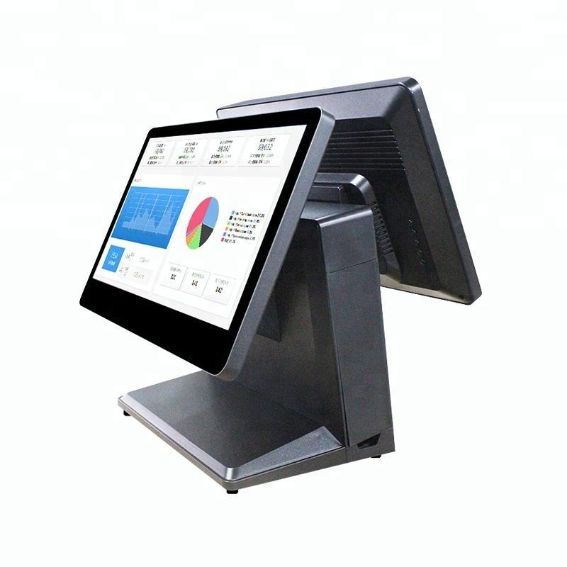 Dual screen 15.6 wide screen touch pos terminal / system