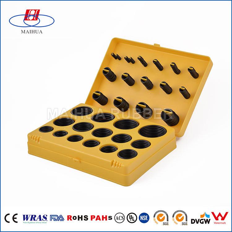 2mm metric runde platz teflon o-ring kit set