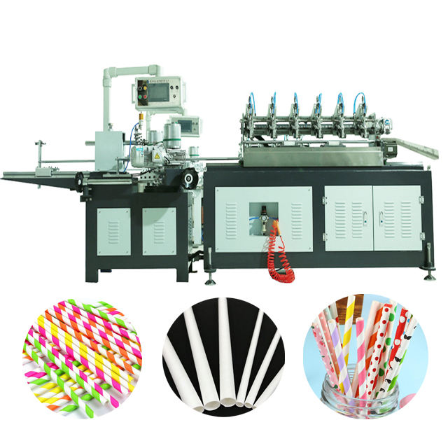 Color Paper Tube Forming Widely Used Paper Straw Making Machine
