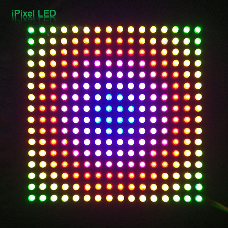 Flexible 16x16 matriz led direccionable DC5V panel led
