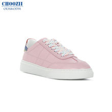 Choozii Popular Women's High Quality Pink Woman Casual Summer Running Breathable Platform Sport Shoes Ladies Walking Sneakers