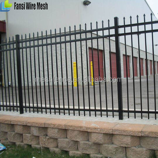 6ft Active Onyx style fence in a back yard distributors needed wrought iron railings fence panels