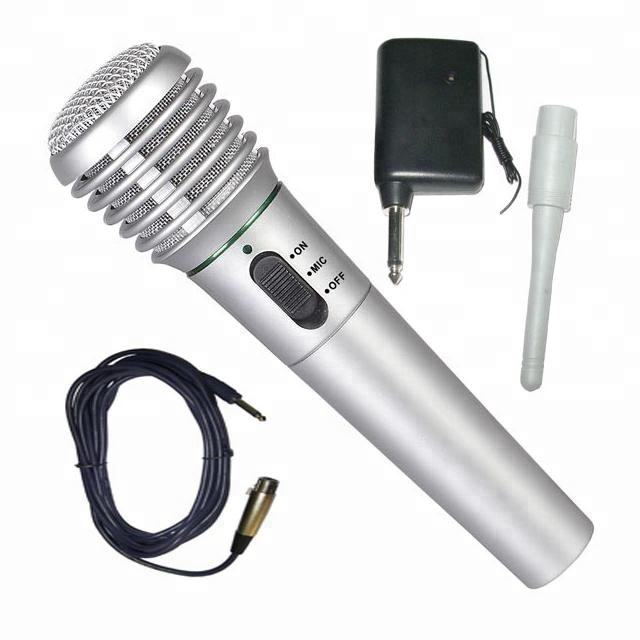 2 in 1 wired/wireless microphone