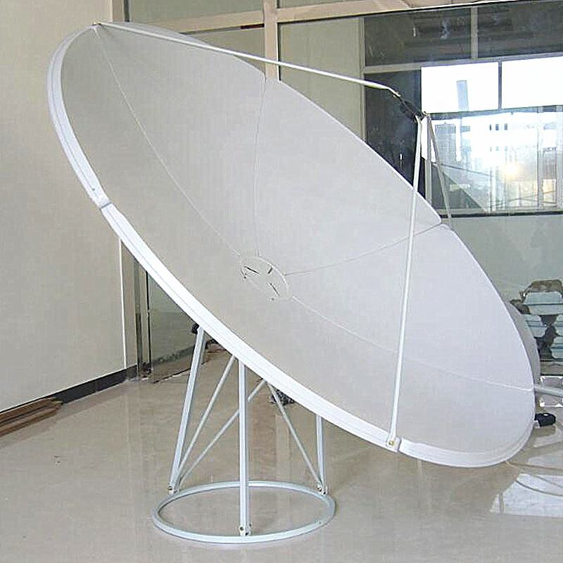 C band 2.4m satellite dish antenna for Yemen