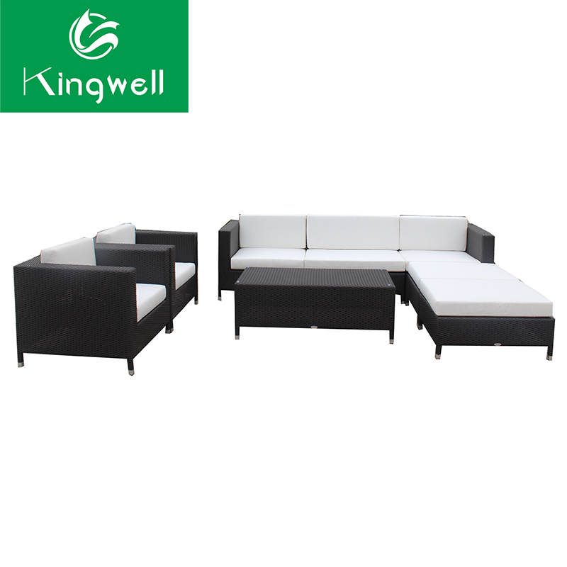 Good price rattan wicker furniture sets sofa outdoor