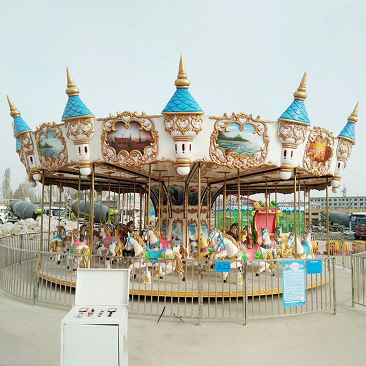 amusement park equipment horse carousel amusement rides