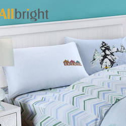 ALLBRIGHT custom different design kids bedding set cotton pr
