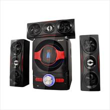 Excellent sound 3.1 home theater speaker system, bluetooth speaker with usb sd fm remote