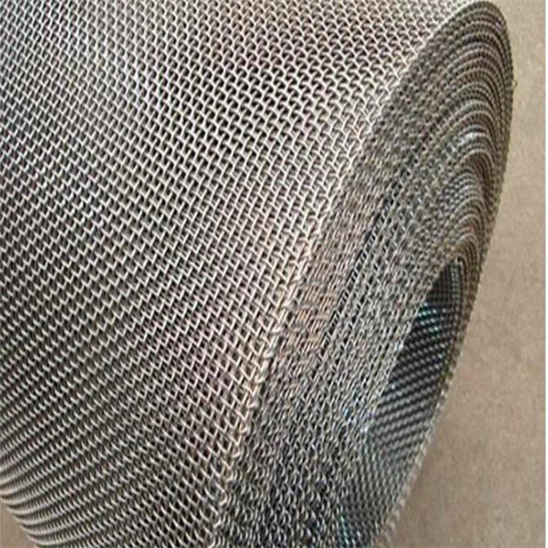Heavy duty crimped wire mesh for sieving of coal with close edge