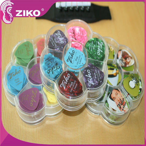 100 x gitar picks ziko gitar plectrum
