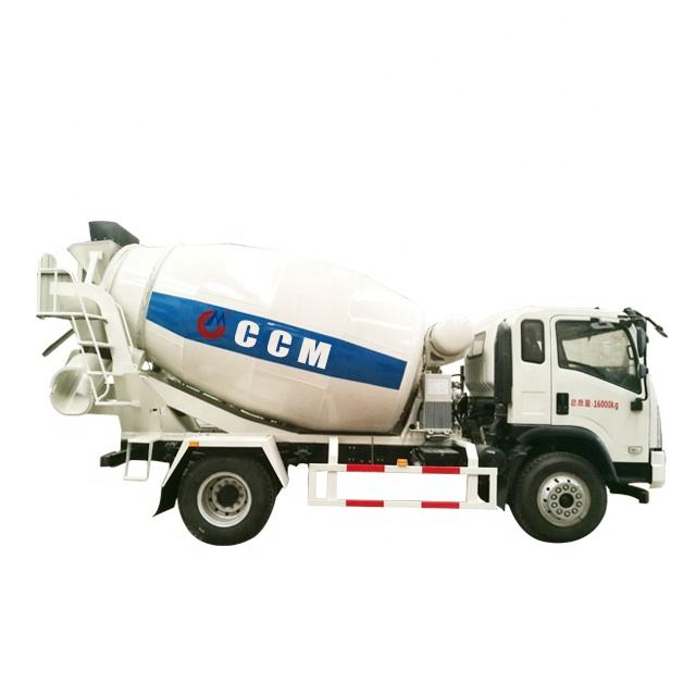 Brand New Dongfeng 6*4 Concrete mixer truck with cheap price/Small concrete mixer truck with factory price and high efficient