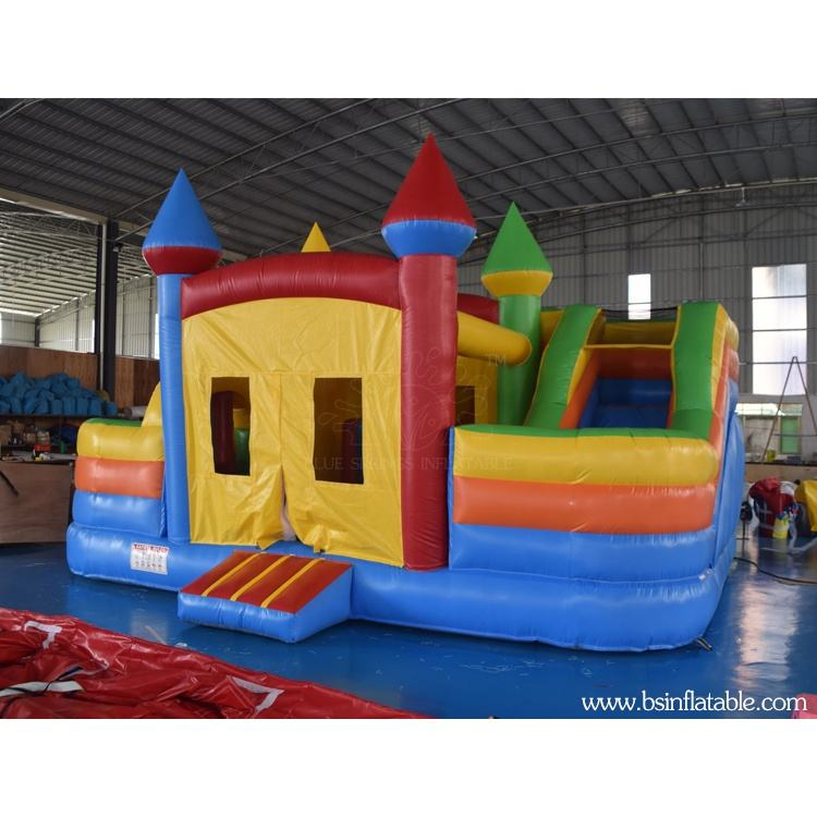 Cheap Inflatable Jumping Bouncy Castle , Multi-activities Inflatable Bouncer House