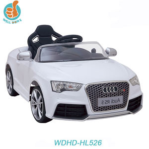 WDHD-FJ526 License New Model Huada Car Toy Ride On Audi Car With Mp3 Music And 2.4G Remote Control