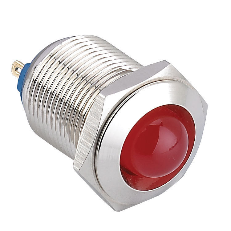 CCC CE ROHS 22mm domed head led indicator light