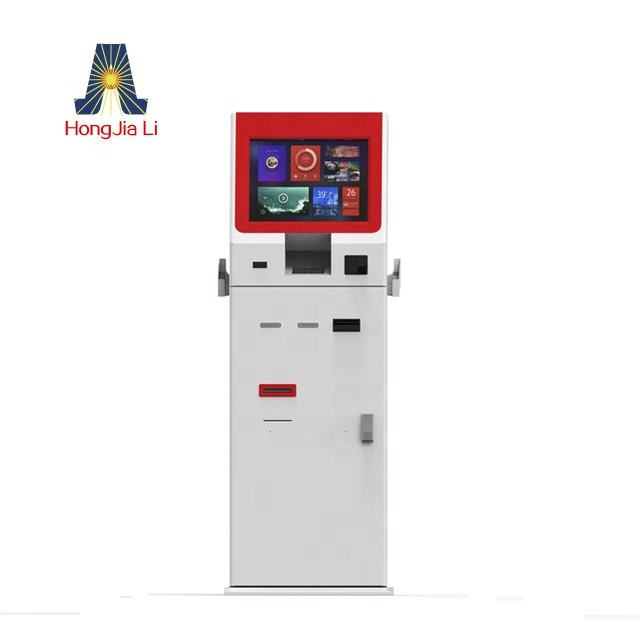 Self Service Touch Screen Kiosk Machine with option for Payment Function self-service payment terminal (HJL-4300C)