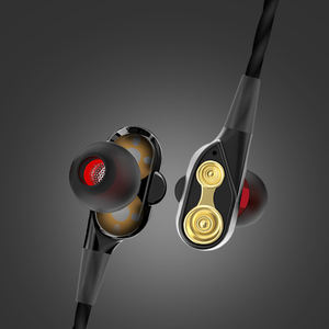 VPB T2 double moving coil earphone bass classic mobile phone headset Wholesale