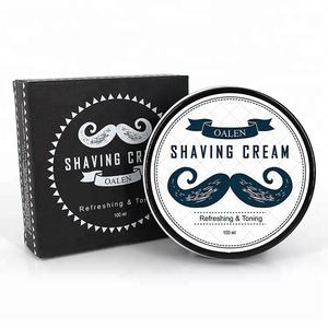 Hot private label shaving cream for man with small moq