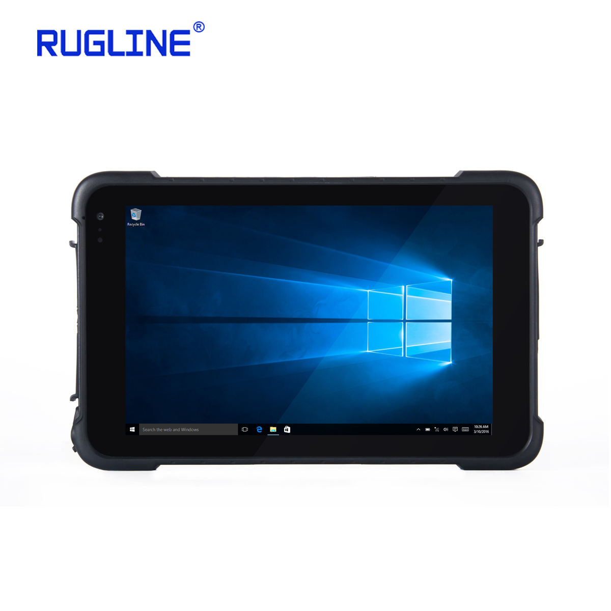 Rugline RT86 8 inch Windows 10 thuis 3G standaard layout RAM 2 GB ROM 32 GB Industriële Robuuste Tablet PC
