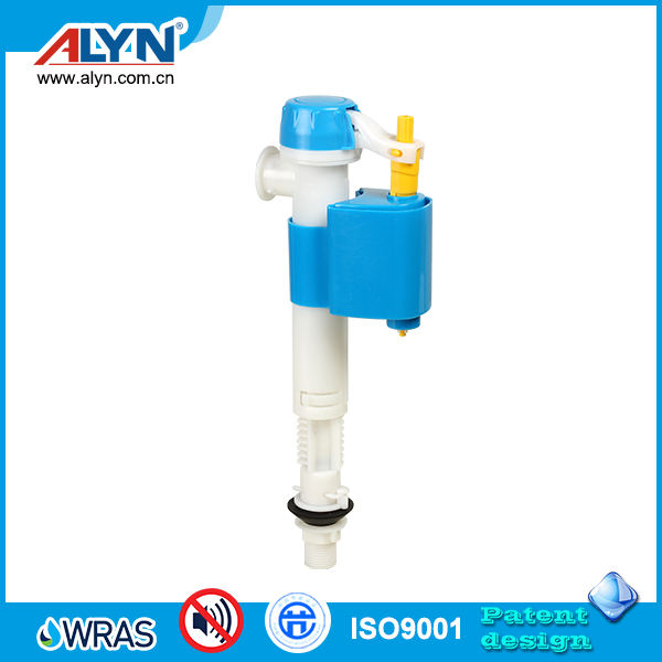 Ultra quiet height adjustable replace fittings toilet water tank fill valve