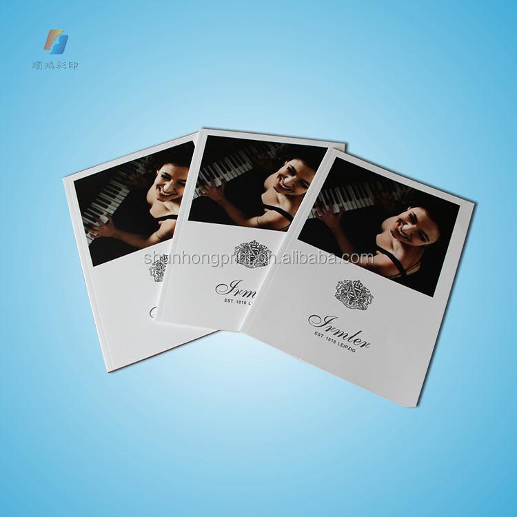 Stampa del libro softcover/fotografia di stampa del libro