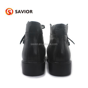 Winter ELectric Genuine Leather Rechargeable Battery heated Shoes