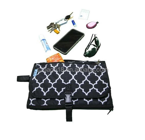 Diaper Changing Pad Mat Station Travel Kit Portable Compact Baby Diaper Bag