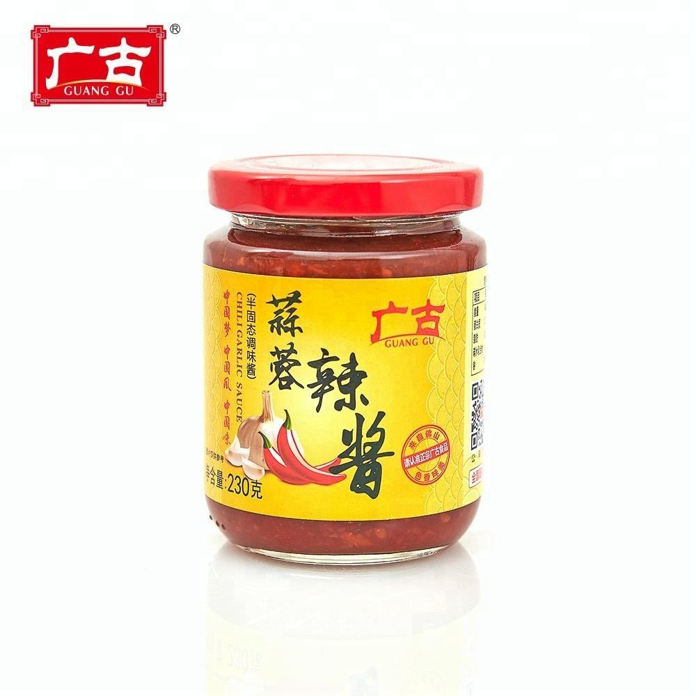 230g China Famous Brand Guilin Style Chili Sauce With Garlic